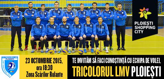 Sesiune de autografe si fotografii cu Tricolorul LMV Ploiesti in PSC