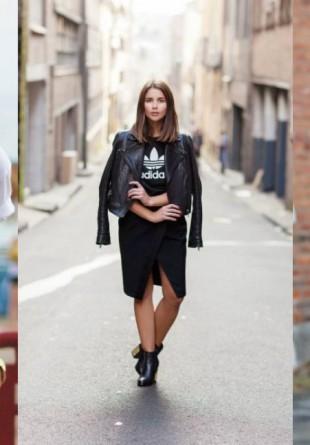 3 stiluri cool de a purta tricoul clasic adidas