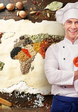 Fă ocolul în jurul lumii cu Pacha Man în bucătărie!