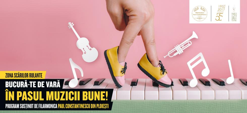 Lasă-te purtat pe aripile muzicii clasice la Ploiești Shopping City!