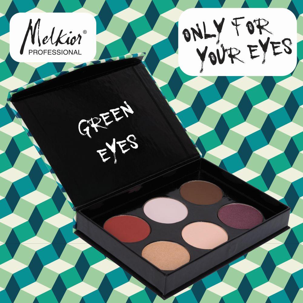 Paleta Green Eyes MELKIOR (2)