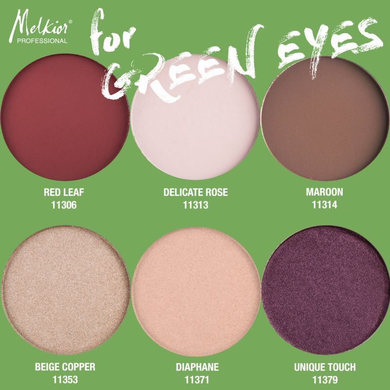 Paleta Green Eyes MELKIOR (3)