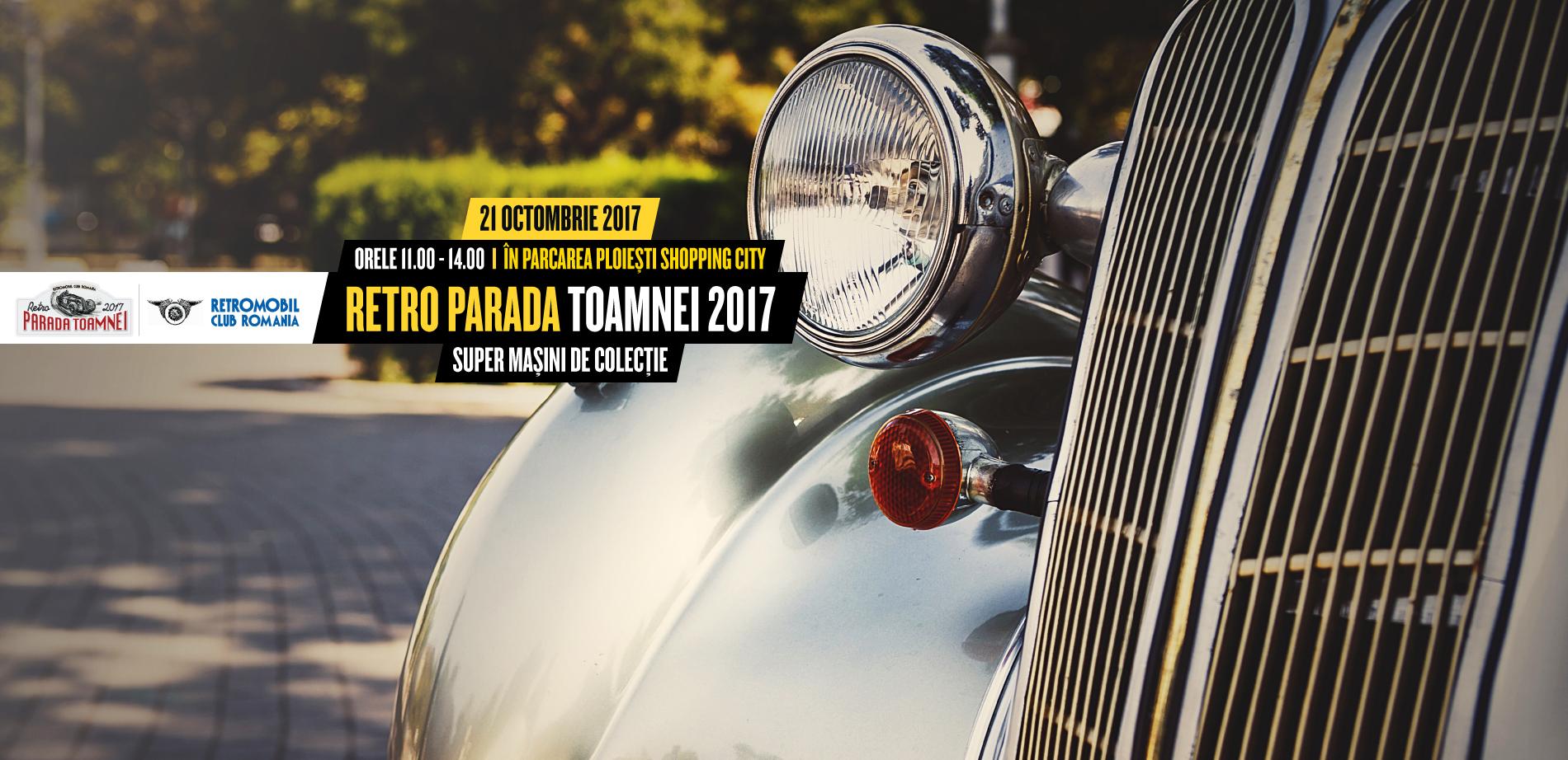 Retro Parada toamnei te așteaptă la Ploiești Shopping City!