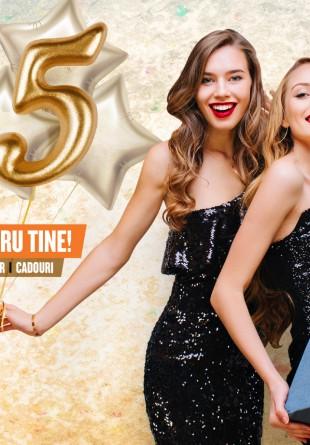 Vino să aniversăm 5 ani de Ploiești Shopping City, cu distracție și surprize!