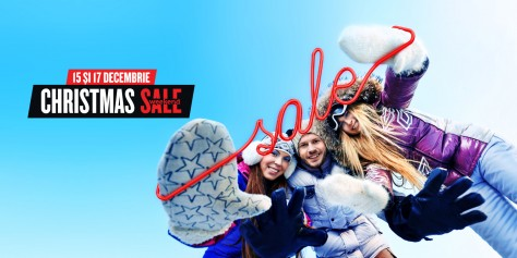 Weekend Christmas Sale la Ploiești Shopping City!