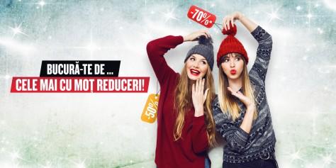 Winter Sale cu super reduceri la Ploiești Shopping City!