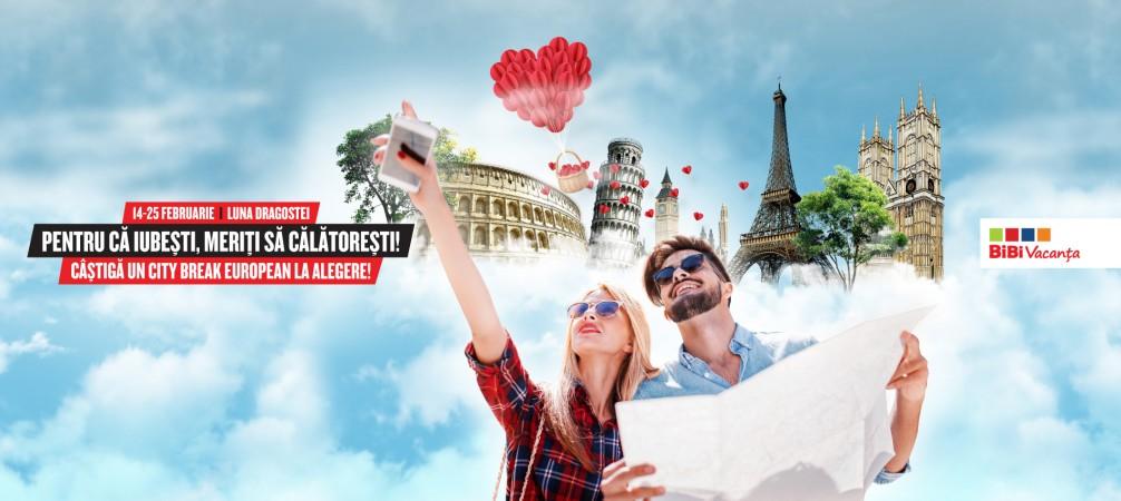 La Ploiești Shopping City pentru că iubești, meriți să călătorești!